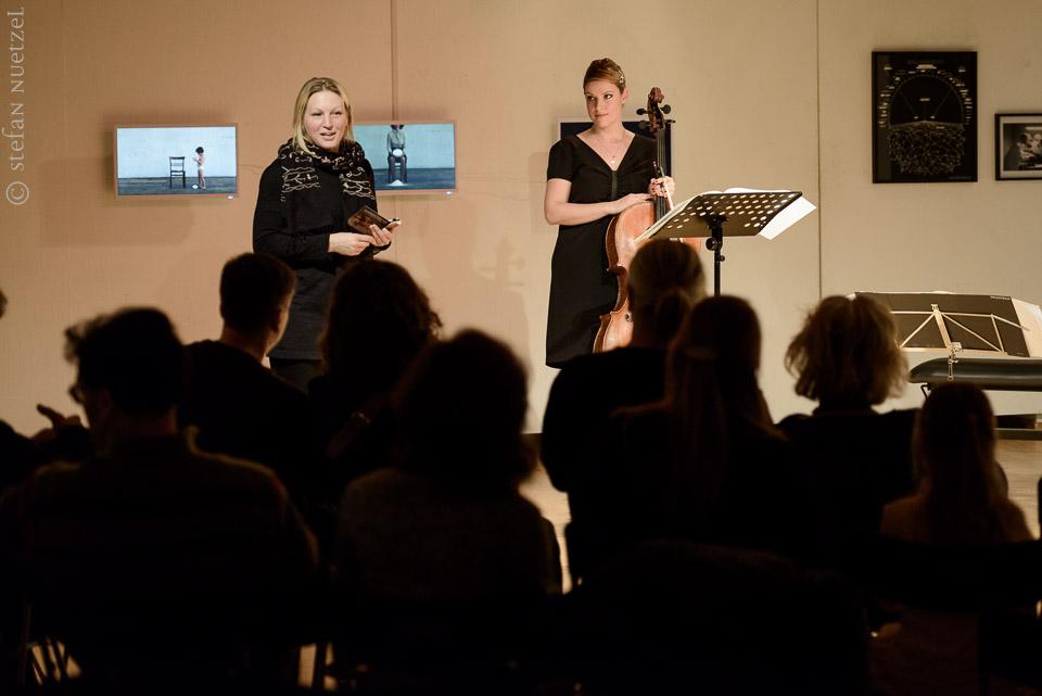 VERGESSEN | Konzert | 2. Dezember 2015 | Ana Topalovic (Cello) und Matei Ioachimescu (Flöte)