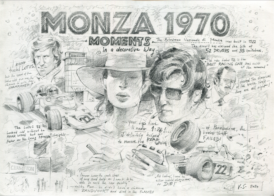 Vinzenz Schueller, Monza